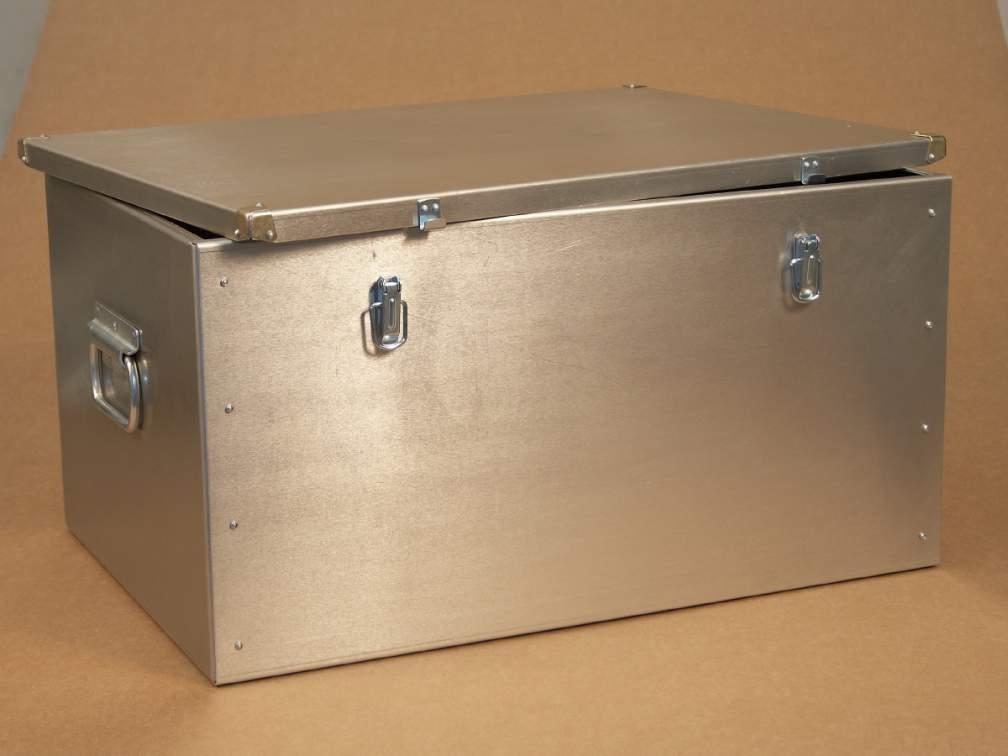 Как изготовить металлический ящик